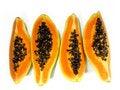Free Papaya Slices Stock Photo - 5289170