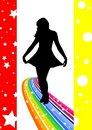 Free Rainbow Dancer Royalty Free Stock Photos - 5289368
