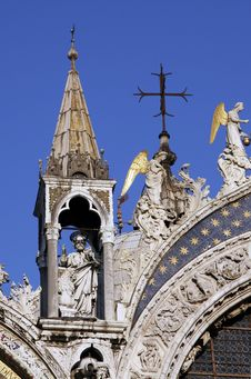 Free Church Detail In Venice, Italy Royalty Free Stock Images - 5280039