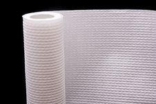 White Paper Towel Stock Photo