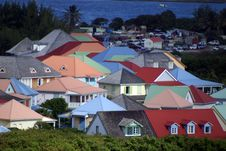 Free Colorful Roofs Stock Photos - 5280913
