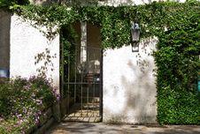 Garden Home Entrance Royalty Free Stock Image