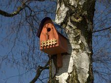 Nesting Box Stock Image