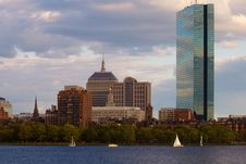 Free Afternoon Boating On The Charles River Royalty Free Stock Photos - 5281388