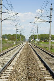 Free Railroad Track Stock Photo - 5281390