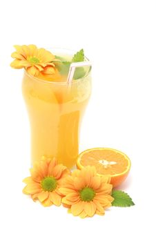 Free Orange Juice Drink Stock Photo - 5281440