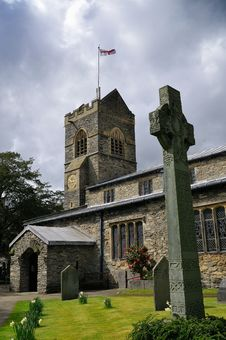 Church In Bowness On Windermere, UK Royalty Free Stock Image