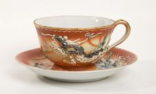 Free Dragon Tea Cup Stock Images - 5282114
