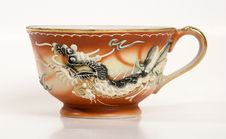 Dragon Tea Cup 2 Royalty Free Stock Photography