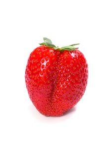 Free Fresh Strawberry Royalty Free Stock Photography - 5282277