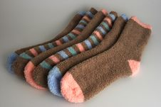 Free Winter Socks Stock Photos - 5282313