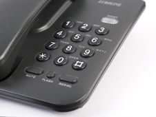 Free Black Phone Stock Image - 5282371