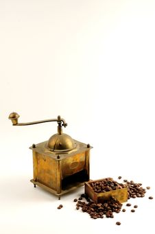 Free Antiquity Coffee Machine Stock Image - 5282611
