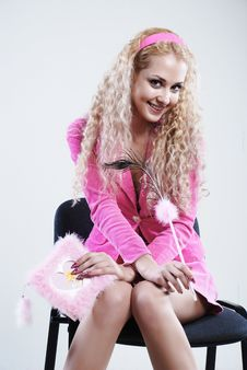 Free Pink Style Blonde Stock Images - 5282674