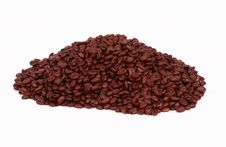 Free Coffee Bean Pile On White Royalty Free Stock Images - 5282999