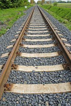 Free Railroad Royalty Free Stock Photo - 5283255
