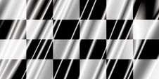 Free Checkered Plasctic Flag Royalty Free Stock Photos - 5283268