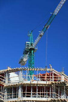 Free Construction Crane Royalty Free Stock Photos - 5283388