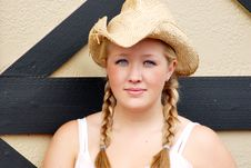 Free Farmers Daughter - Horizontal Stock Photography - 5283392