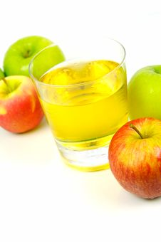 Free Apple Juice Royalty Free Stock Photos - 5283538