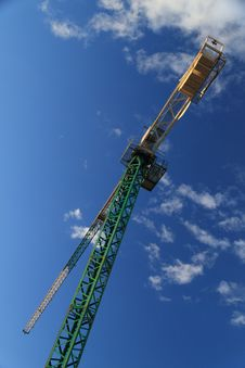Free Construction Crane Royalty Free Stock Photo - 5283545