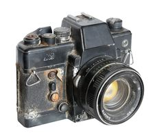 Free Old Rust Camera Stock Photography - 5283622