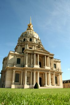 Free Dome D Invalides In Paris, France Royalty Free Stock Photography - 5284347