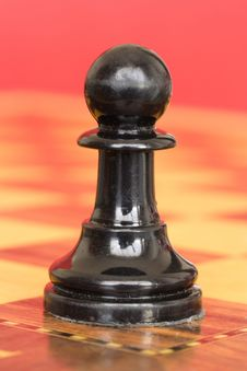 Free Black Pawn Royalty Free Stock Photography - 5284447