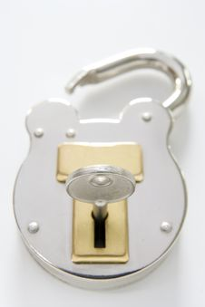 Free Unlocked Padlock Royalty Free Stock Photo - 5285155