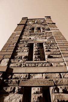 Free Old Arsenal Clock Tower Royalty Free Stock Photography - 5285227
