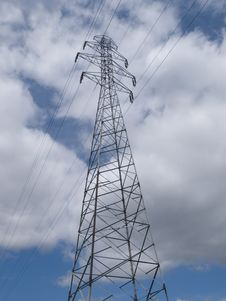 Free Power Lines Stock Photography - 5285232