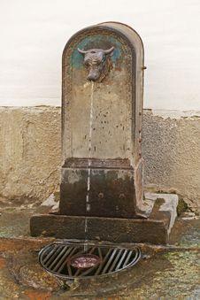 Toretto Drinking Fountain, Italy Royalty Free Stock Photos