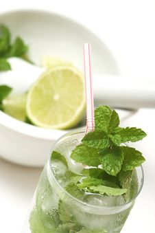 Free Mojito Royalty Free Stock Photo - 5285285