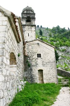 Free Military Defensive Fortress In Kotor Stock Photography - 5285722