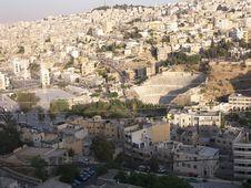 Free Panorama Of Amman, Jordan Stock Photo - 5285790