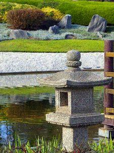 Free Stone Lamp Stock Photos - 5286133