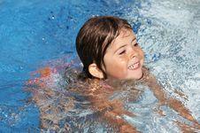 Free Pool Fun In The Sun Royalty Free Stock Photo - 5286275