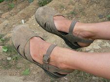Free Travelling Feet Stock Photo - 5286370