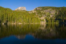 Free Bear Lake Reflection Royalty Free Stock Photo - 5286385