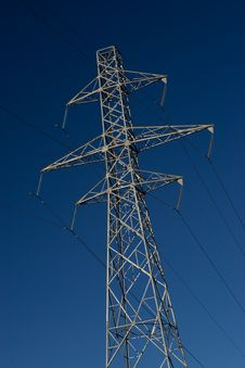 Free Power Pylons Stock Photo - 5286560