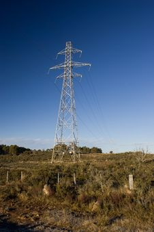 Free Power Pylons Royalty Free Stock Images - 5286569