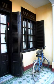 Free Entrance To A House In Hoian Royalty Free Stock Images - 5286599