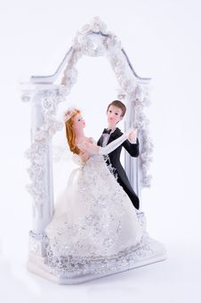 Wedding Statue Royalty Free Stock Photography