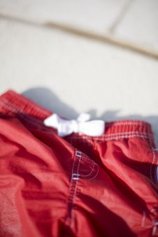 Free Red Shorts Stock Photos - 5286963