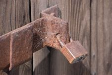 Free Rusty Lock Stock Photos - 5287033