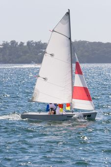 Free Sailing On The Harbour Stock Photos - 5287083