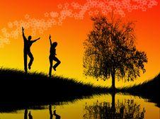 Free Jumping Stock Image - 5287111