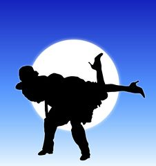 Free Moonlight Dance 5 Stock Photos - 5287223