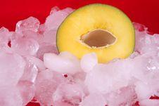Free Mango And Ice Royalty Free Stock Photo - 5287235