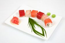 Free Sushi Asian Food Stock Photography - 5287382